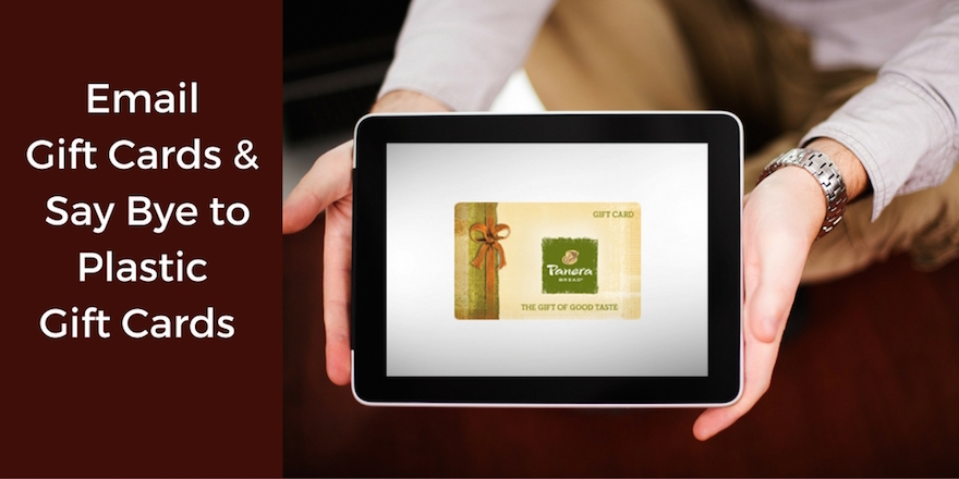 7 Reasons to Email Gift Cards and Ditch Plastic Gift Cards