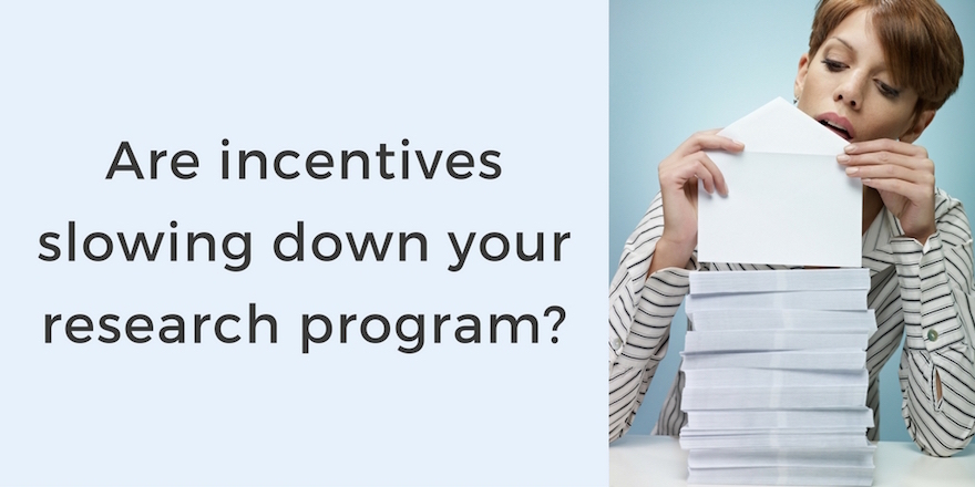 7 Signs Your Research Program Needs Better Incentives Management