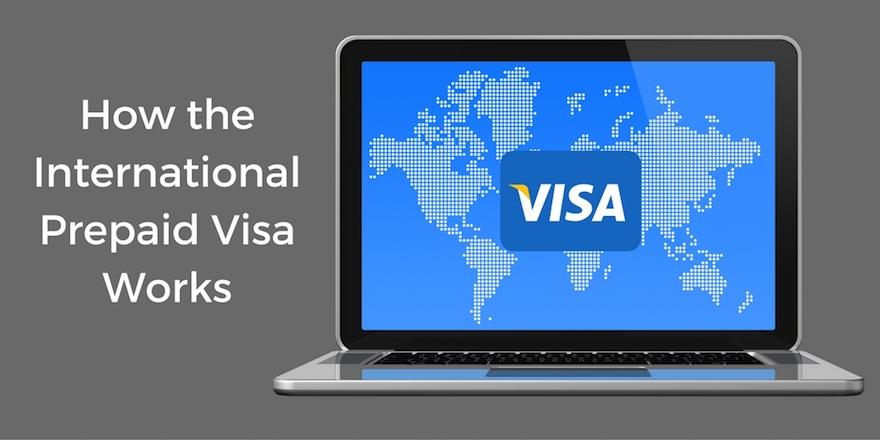 International Prepaid Visa – How it works in 3 Steps
