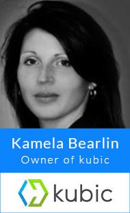 Kamela Bearlin, Owner of kubic