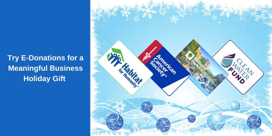 Try e-Donations for a Meaningful Business Holiday Gift, Survey Reward and More