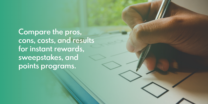 [Cheat Sheet] How to Choose the Right Structure for Your Rewards Program
