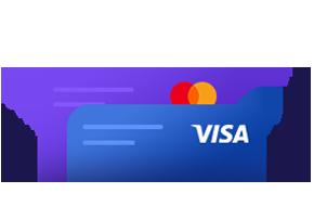 Virtual Visa and Mastercard